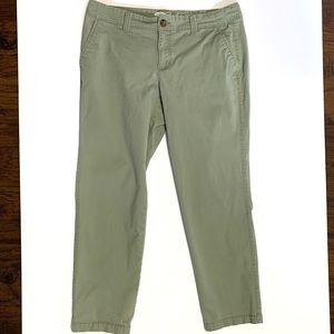OLD NAVY Olive Green Boyfriend Slim Chino Pants